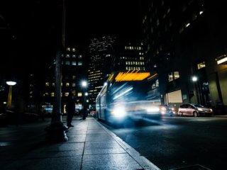 town-at-night