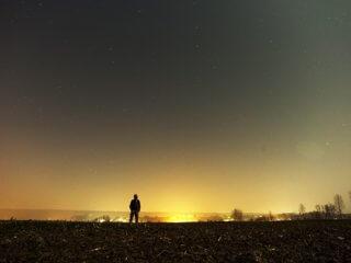 man-looking-sky